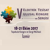 18-21 OCTOBER 2017 - V. ELECTRICAL INSTALLATION NATIONAL CONGRESS AND EXHIBITION
