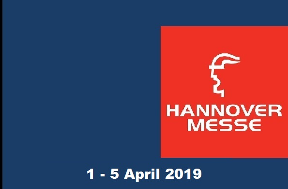 WE WILL BE AT  HANNOVER MESSE EXHIBITION.
