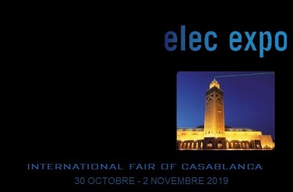 NOUS SOMMES À LA SALLE ELEC EXPO 2019